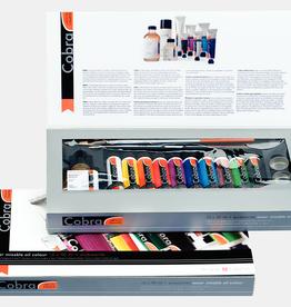 Royal Talens Cobra Artist Value Pack 40 Ml Tubes, 10 Assorted Colors