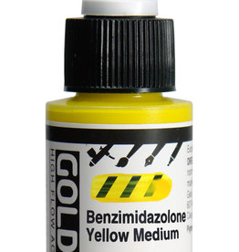 Golden Golden HF Benzimidazolone Yellow Med 1 oz cylinder