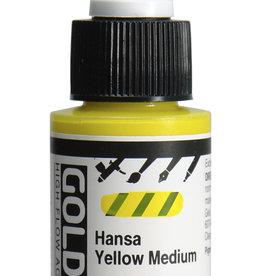 Golden Golden High Flow Hansa Yellow Medium 1 oz cylinder