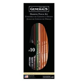 General Pencil General Pencil Classic Drawing & Sketching Kit