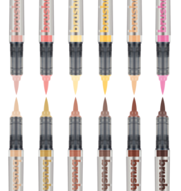 Karin Brushmarker PRO 12 pcs. Set Skin colours