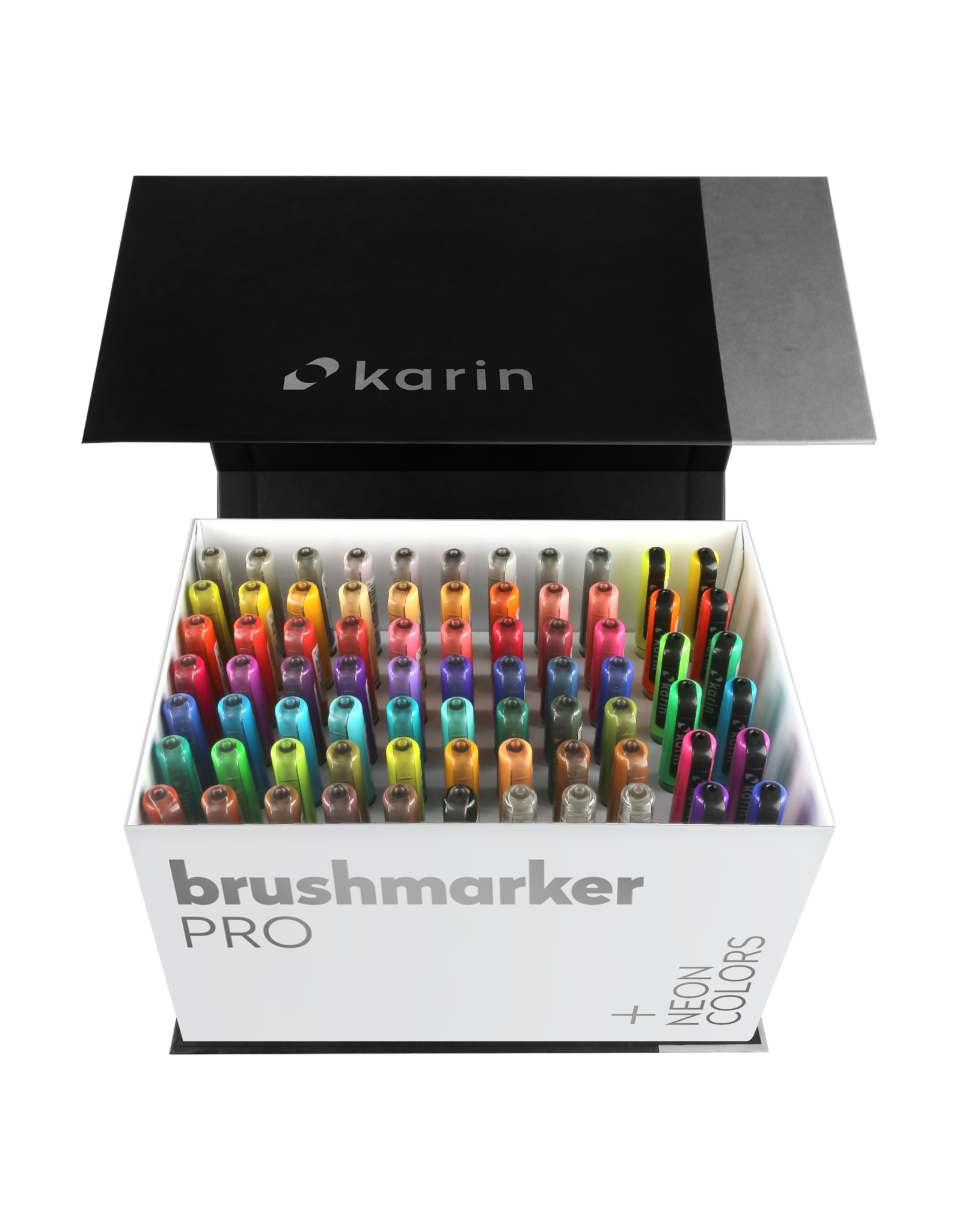 Karin Brushmarker PRO Mega Box PLUS 72 colors + 3 blenders set