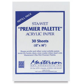Sta-Wet Premier Acrylic Paper Refill 30 sheets