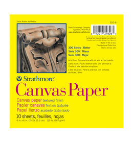 Strathmore Strathmore Canvas Paper Pads  6X6 -10 Sheets