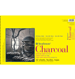 Strathmore Strathmore 300 Charcoal Paper White 11x17 32 Sheets