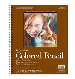 Strathmore Strathmore 400 Colored Pencil Pads 11 x 14