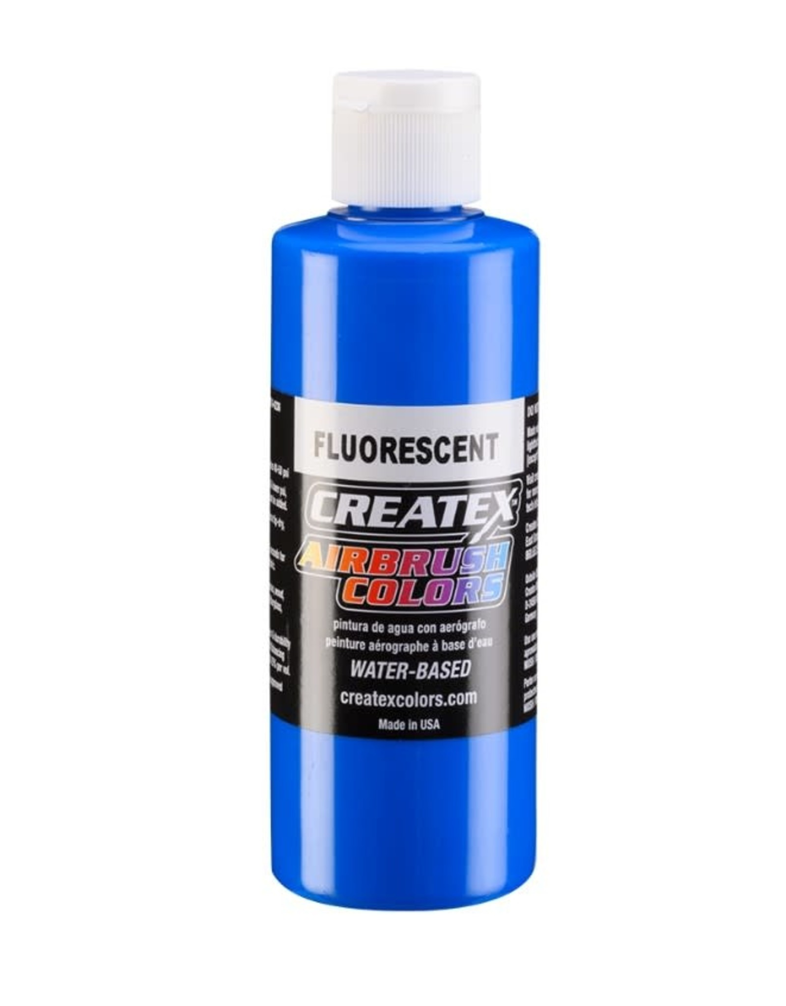 CREATEX COLORS Createx 4 oz AB Fluorescent Blue