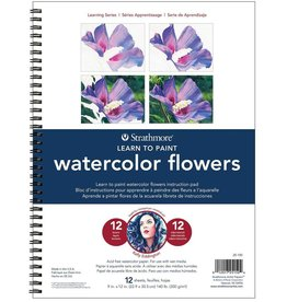 Strathmore Strathmore 200 Learning Series Watercolor Flowers Pad