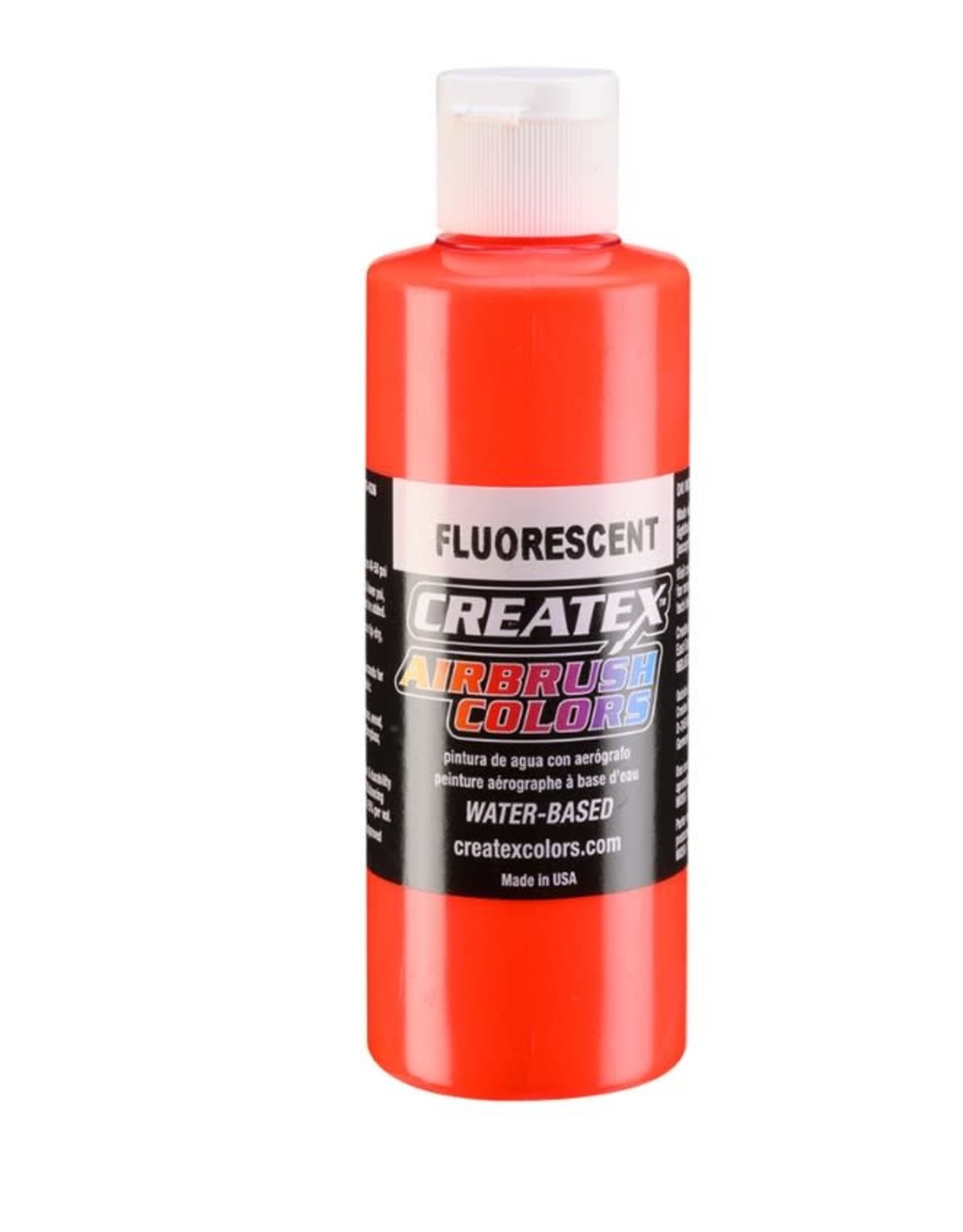 CREATEX COLORS Createx 4 oz AB Fluorescent Red