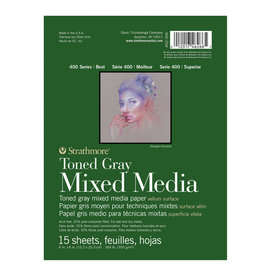 Strathmore Strathmore 400 Toned Gray Mixed Media Pads 6 x 8