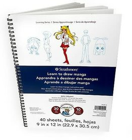 Strathmore Strathmore Learn to Draw Wire Pad 9''X12''-Manga