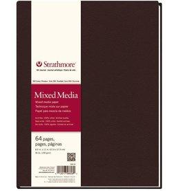 "Strathmore Strathmore 500 Series Hardbound Mixed Media Art Journal, 8.5""x11"" 64 Sheets"