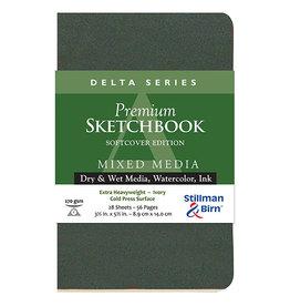 Stillman & Birn Delta Softcover Portrait 3½ x 5½