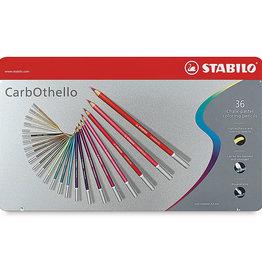 STABILO Stabilo CarbOthello Chalk-Pastel Colored Pencil, 4.4 mm - 36-Color Set