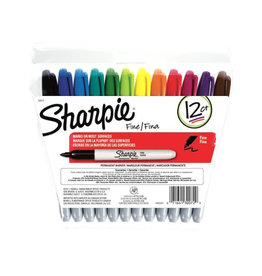 SHARPIE SHARPIE FINE 12 COLOR SET