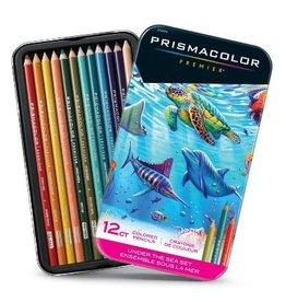 PRISMACOLOR Prismacolor Premier, Under The Sea Set, 12 Pack
