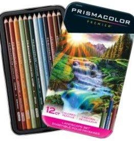 PRISMACOLOR Prismacolor Premier, Landscape Set, 12 Pack