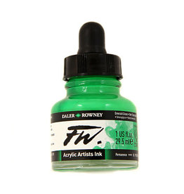 Daler-Rowney DAL FW INK 29.5ML LIGHT GREEN