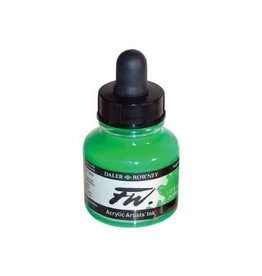 Daler-Rowney DAL FW INK 29.5ML FLUORESCENT GREEN
