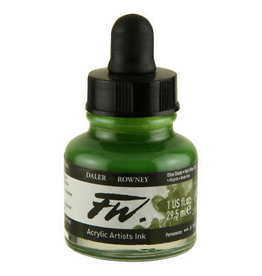 Daler-Rowney DAL FW INK 29.5ML OLIVE GREEN