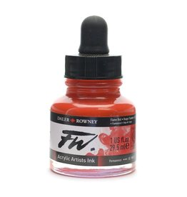 Daler-Rowney DAL FW INK 29.5ML FLAME RED