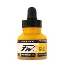 Daler-Rowney DAL FW INK 29.5ML BRILLIANT YELLOW