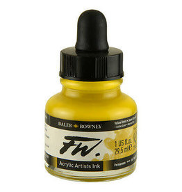 Daler-Rowney DAL FW INK 29.5ML YELLOW OCHRE