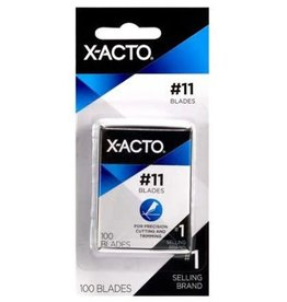 X-Acto No. 11 Fine Point Refill Blades, 100 pk.