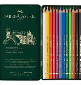 FABER-CASTELL Faber Castell Polychromos Colour Pencils Tin Of 12