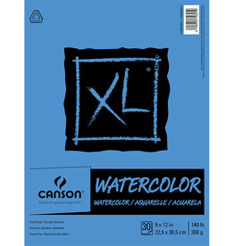 Canson Canson Xl Watercolor 300G   9X12 30 Sheet