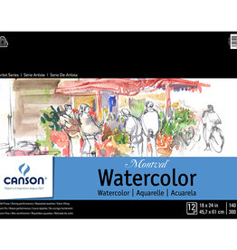 Canson Canson Artist Series Montval 140lb 18X24 2 Sheets