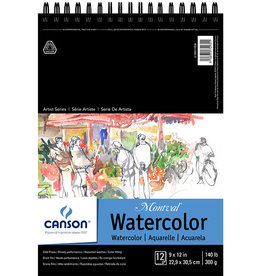 Canson Canson Artist Series Montval 140lb 9X12 12 Sheets