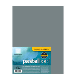 Ampersand Art Ampersand Pastelbord Grey 1/8'' Flat 9x12