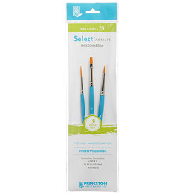 Princeton Select Value Set #3- Liner 1, Flat Shader 4, Round 3