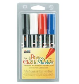 Uchida BISTRO CHALK MARKER 4C BASIC SET