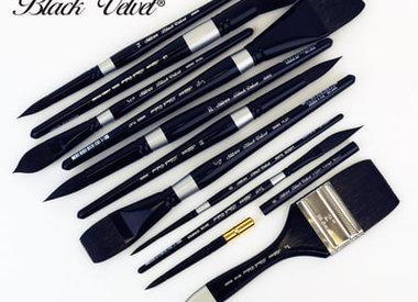 Silver Brush Ltd- Black Velvet Collection