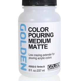 Golden Golden Color Pouring Medium Matte 8 oz Silgan Wide Mouth