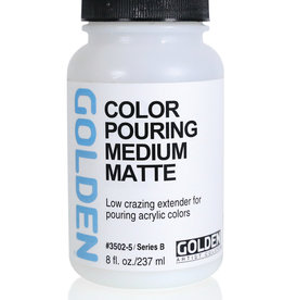 Golden Golden Color Pouring Medium Matte 8oz Silgan Wide Mouth