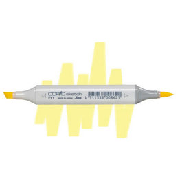 COPIC Copic Sketch Marker FY1 Fluorescent Yellow Orange