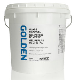 Golden Golden Glass Bead Gel 128 oz White Pail