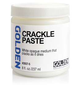Golden Golden Crackle Paste 8 oz jar