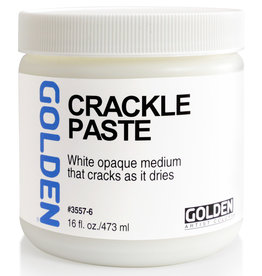 Golden Golden Crackle Paste 16 oz jar