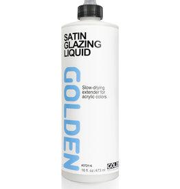 Golden Golden Satin Glazing Liquid 16 oz cylinder
