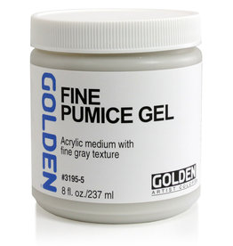 Golden Golden Fine Pumice Gel 8 oz jar