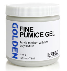 Golden Golden Fine Pumice Gel 16 oz jar