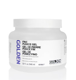 Golden Golden Fine Pumice Gel 32 oz jar
