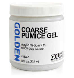Golden Golden Coarse Pumice Gel 8 oz jar
