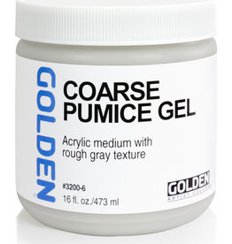 Golden Golden Coarse Pumice Gel 16 oz jar