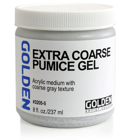 Golden Golden Extra Coarse Pumice Gel 8 oz jar