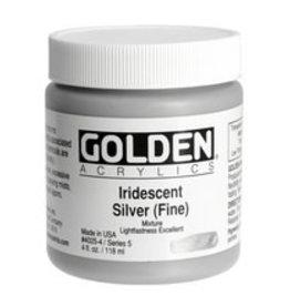 Golden Golden Iridescent Silver (fine) 4 oz jar